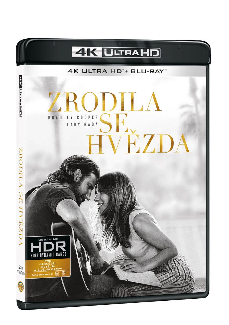 Zrodila se hvezda 2BD (UHD+BD) / A Star is born - Czech version
