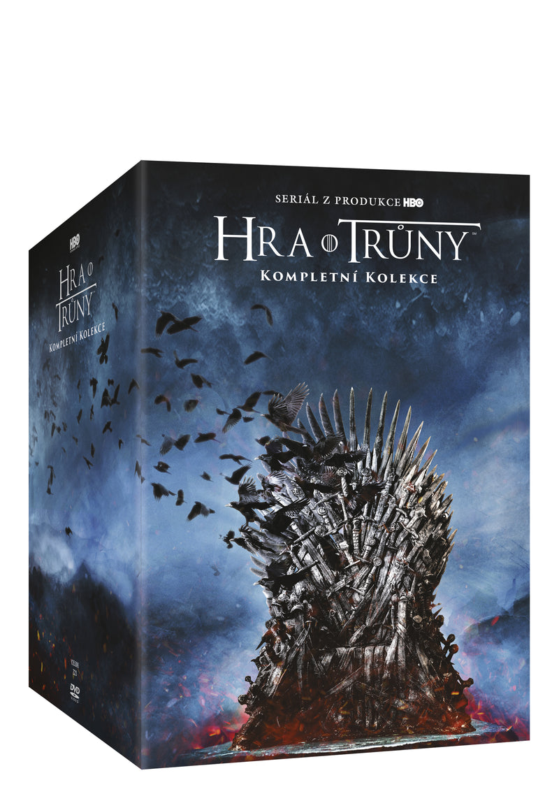 Hra o truny kolekce 1.-8. serie 38DVD / Game of Thrones Season 1-8 DVD Complete Box Set