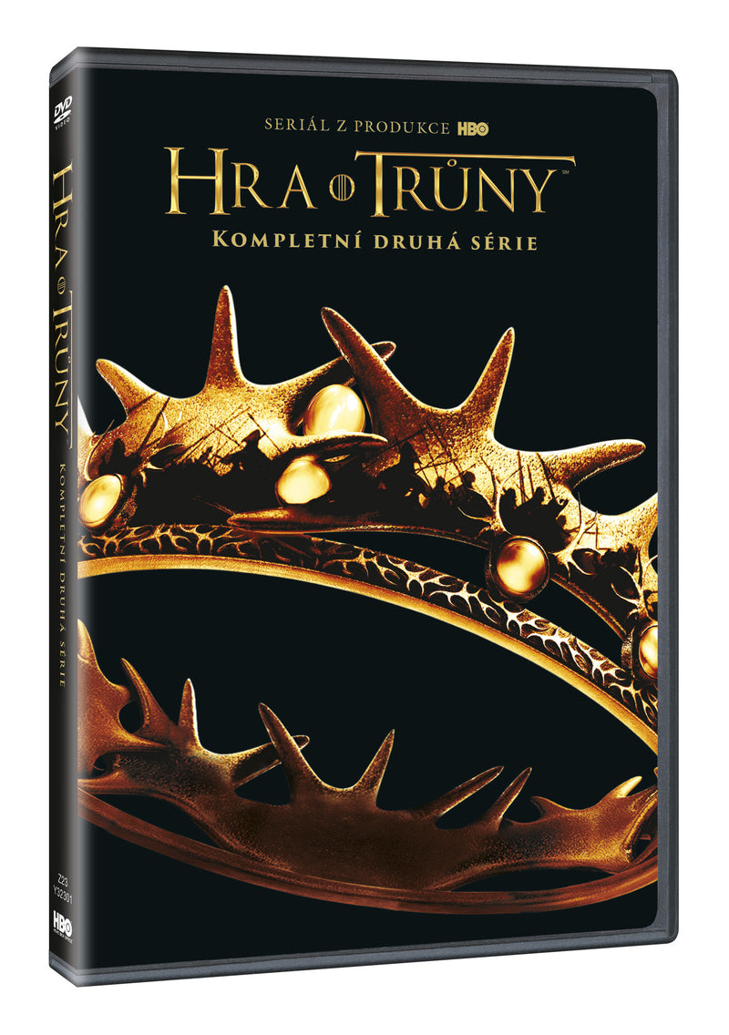 Hra o truny 2. serie 5DVD - multipack / Game of Thrones Season 2