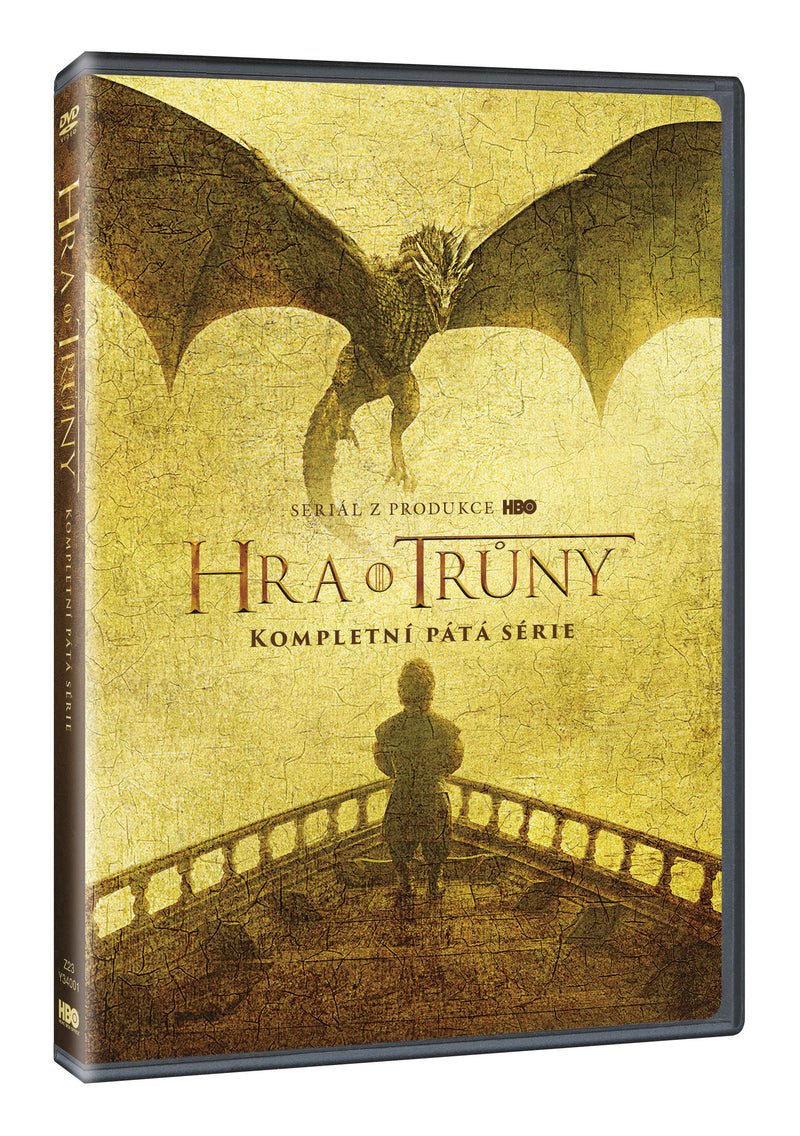 Hra o truny 5. serie 5DVD - multipack / Game of Thrones Season 5 5DVD