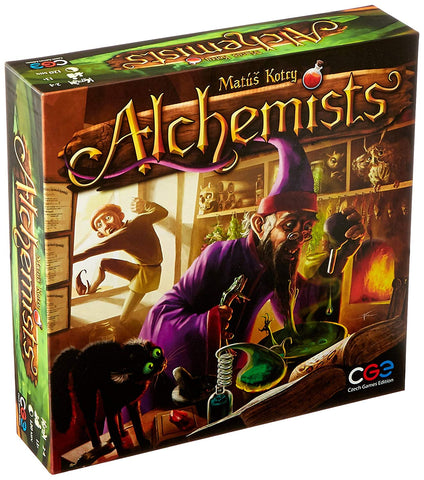 Alchemists / base game