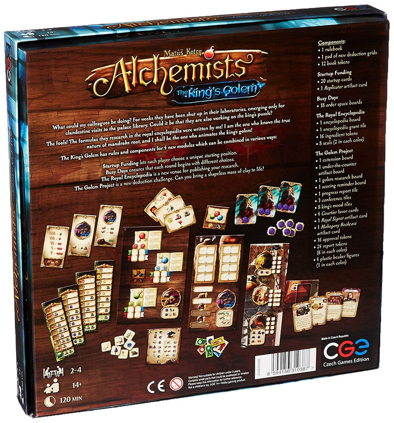 Alchemists: The King's Golem / expansion