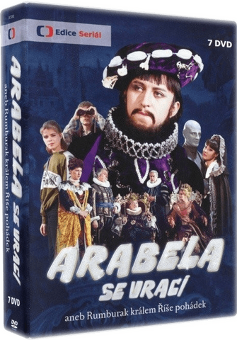 Arabela se vraci 7x DVD - czechmovie