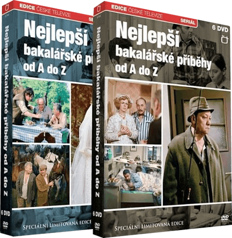 Bakalari 12x DVD - czechmovie