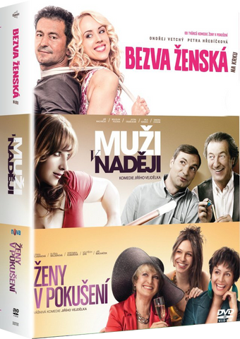 Men in Hope+Stuck with a Perfect Woman+Women in Temptation Collection/Muzi v naději+Bezva zenská na krku+Zeny v pokuseni