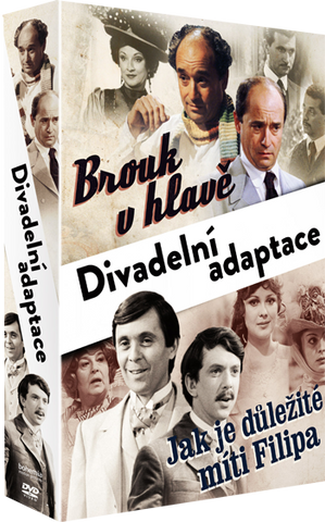Collection Brouk v hlave + The Importance of being earnest/Jak je dulezite miti Filipa  2x DVD