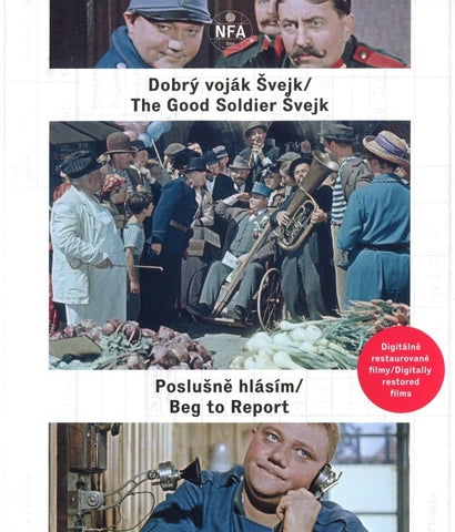 The Good Soldier Schweik+I Obediently report/Dobry vojak Svejk+Poslusne hlasim Remastered
