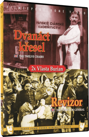 Dvanact kresel+The Inspector General/Dvanact kresel+Revizor - czechmovie