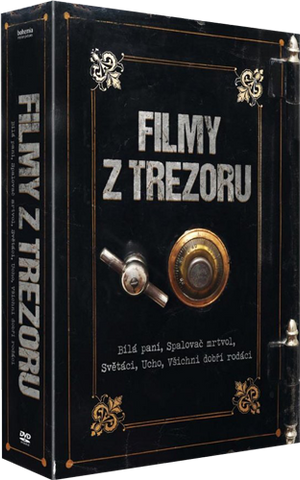Filmy z trezoru 5x DVD Remastered - czechmovie
