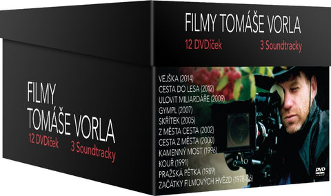 Tomas Vorel - Collection 11x DVD + 3x soundtrack