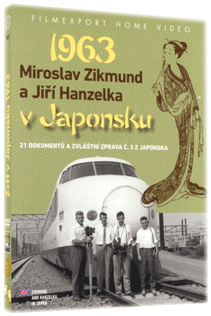 Miroslav Zikmund and Jiri Hanzelka in Japan 2x DVD