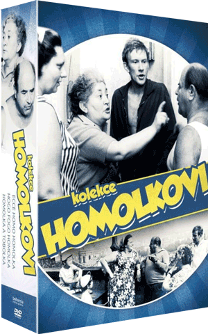 Homolkovi 3x DVD Collection