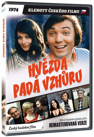 A Star Is Falling Upwards/Hvezda pada vzhuru Remastered DVD