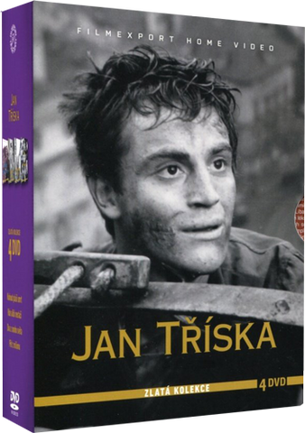 Jan Triska 4x DVD - czechmovie