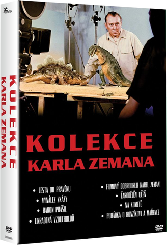 Karel Zeman Collection 8 DVD - czechmovie