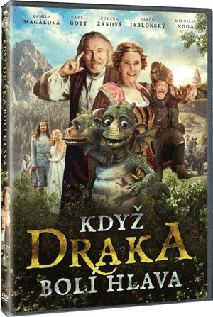 When dragon gets a headache/Kdyz draka boli hlava