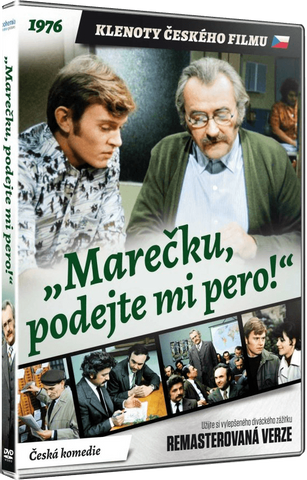 Marecek, Pass Me the Pen!/Marecku, podejte mi pero! Remastered - czechmovie