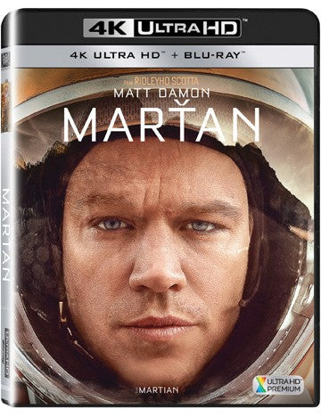 Martan 2BD (UHD+BD) / Martian, The - Czech version