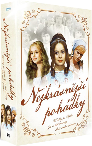 The Most Beautiful Czech Fairy-Tales 3x DVD/ Nejkrasnejsi ceske pohadky 3x DVD