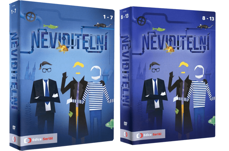 The Invisibles/Neviditelni 13x DVD