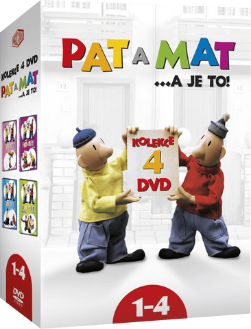 Pat & Mat/Pat a Mat 4x DVD 1-4 - czechmovie
