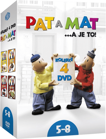 Pat & Mat/Pat a Mat 4x DVD 5-8 - czechmovie