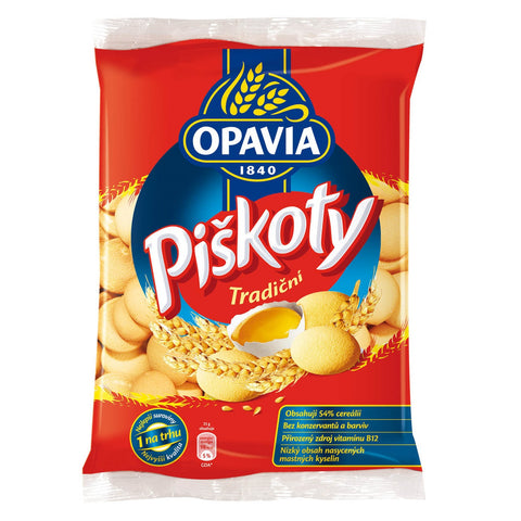 Opavia Piskoty - Sponge Biscuits 240g (Pack of 3)