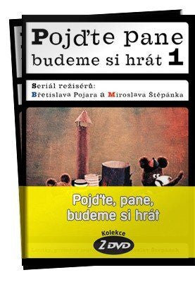 Hey, Mister, let's play/Pojdte pane, budeme si hrat 2x DVD - czechmovie