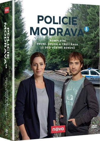 Policie Modrava 1-3 Collection 12x DVD