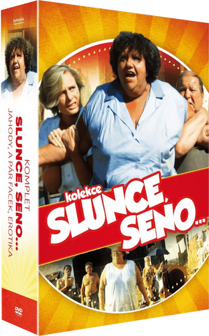 Sun, Hay ... 3x DVD collection/Slunce, seno ... 3x DVD kolekce - czechmovie