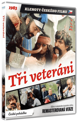 Three Veterans/Tri veterani Remastered - czechmovie