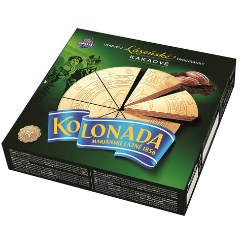 Opavia Kolonada Trojhranky Spa Triangles Wafers 260g (Pack of 3)
