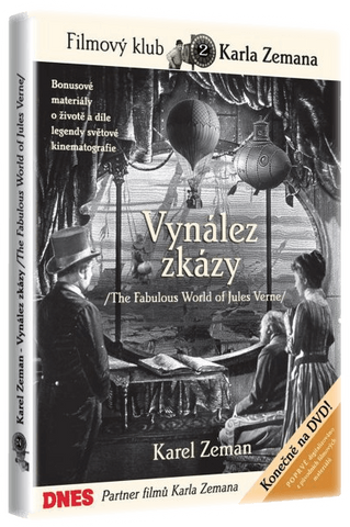 Karel Zeman: The Fabulous World of Jules Verne/Vynalez zkazy - czechmovie