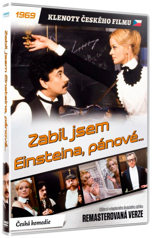 I Killed Einstein, Gentlemen/Zabil jsem Einsteina, panove Remastered DVD