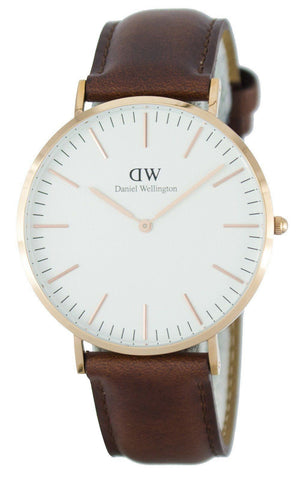 Daniel Wellington Classic St Mawes Quartz DW00100006 - Men Tribe