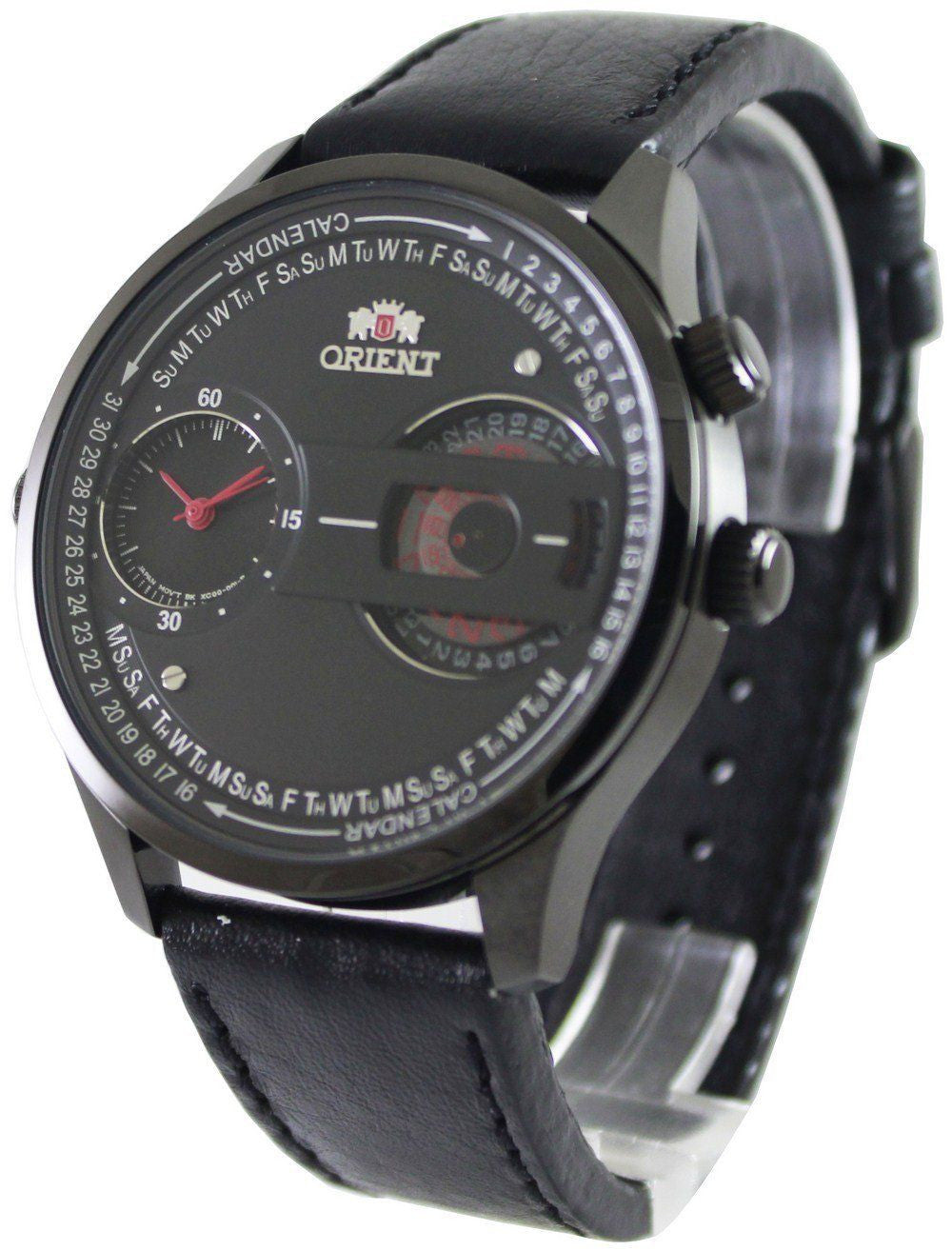 Orient Dual Dial Automatic FXC00002B - Men Tribe