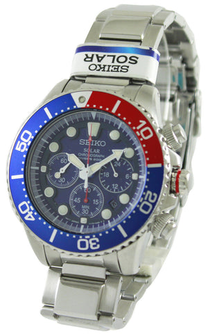 Seiko Solar Chronograph Divers SSC019P1 - Men Tribe