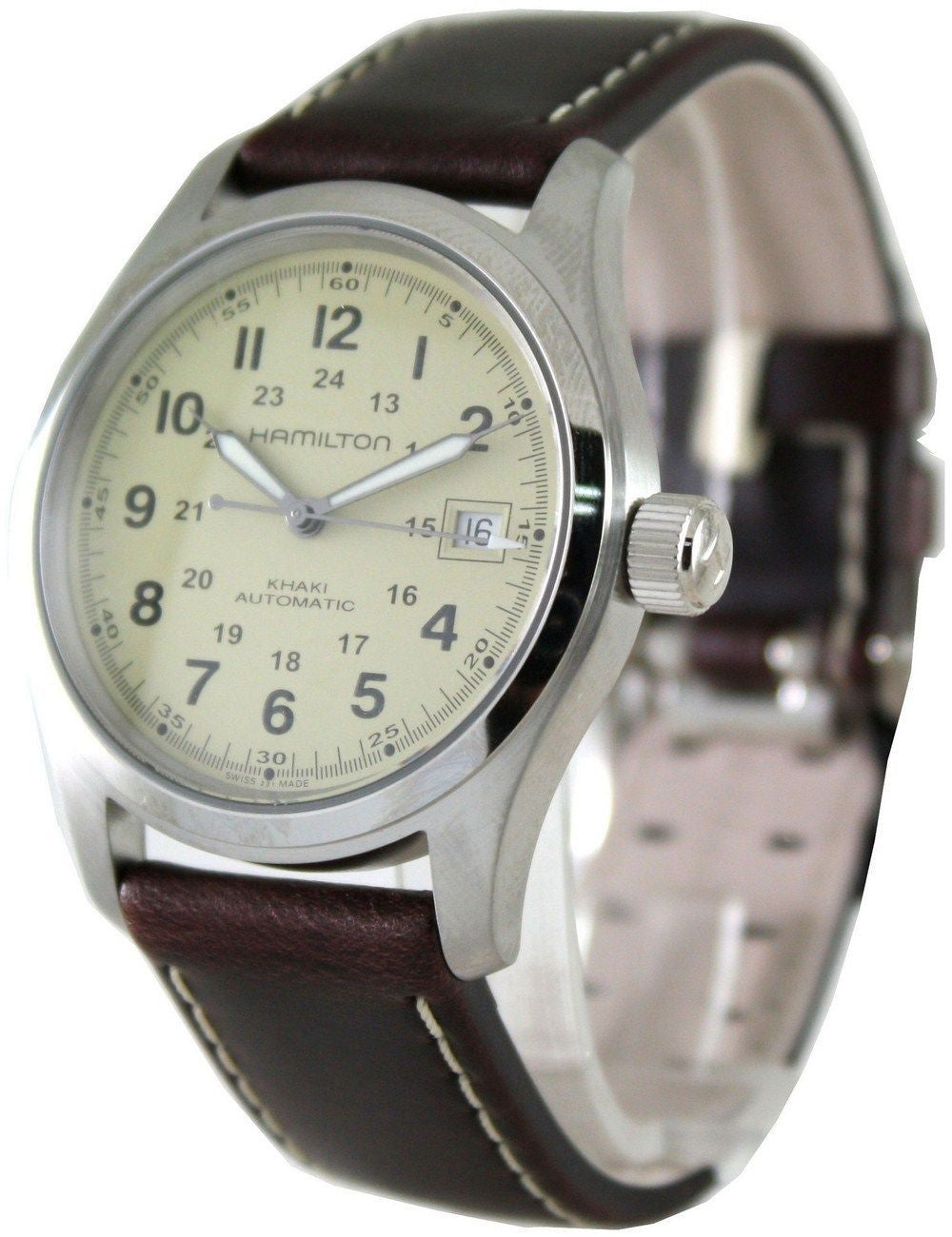 Hamilton Khaki Field Automatic H70455523 - Men Tribe
