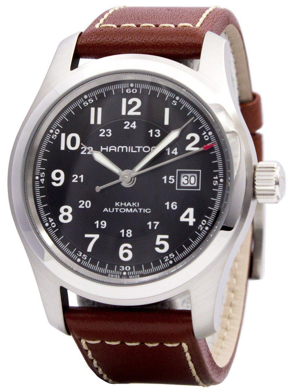 Hamilton Khaki Field Automatic H70555533 - Men Tribe