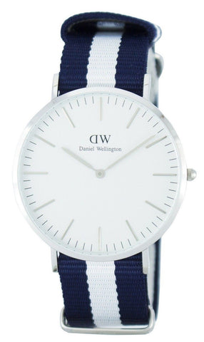 Daniel Wellington Classic Glasgow Quartz DW00100018 - Men Tribe