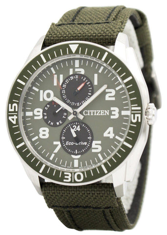 Citizen Eco-Drive Multifunction AP4011-01W - Men Tribe