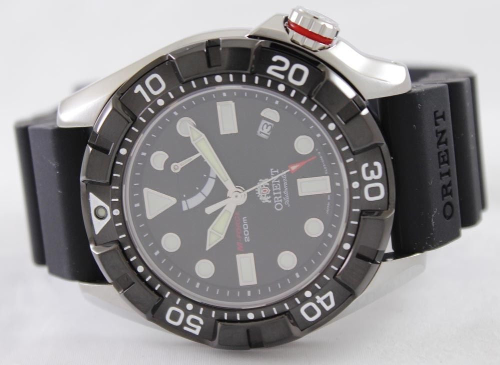 Orient M-Force Automatic Air Diver EL03004B - Men Tribe