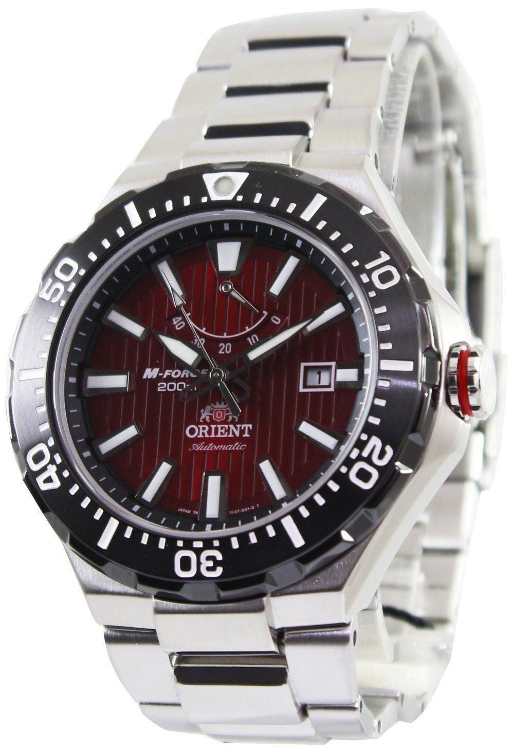 Orient M-Force Delta Collection Automatic Power Reserve EL07002H - Men Tribe
