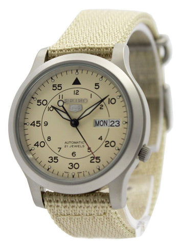 Seiko 5 Military Automatic Nylon Strap SNK803K2 - Men Tribe