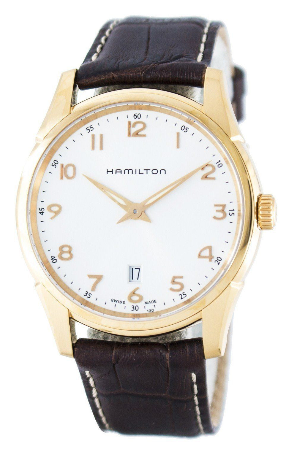 Hamilton Jazzmaster Thinline Quartz H38541513 - Men Tribe