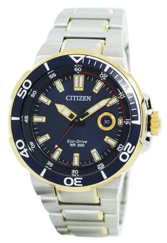 Citizen Endeavor Eco-Drive Diver's 200M AW1424-62L - Men Tribe