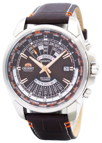Orient Automatic Multi Year Calendar World Time EU0B004T - Men Tribe