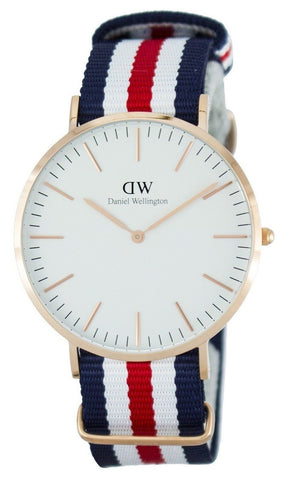 Daniel Wellington Classic Canterbury Quartz DW00100002 - Men Tribe