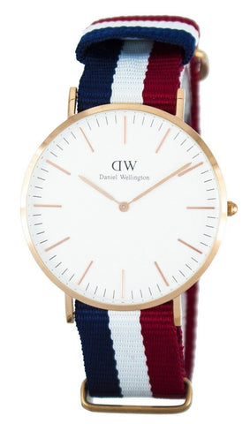 Daniel Wellington Classic Cambridge Quartz DW00100003 - Men Tribe