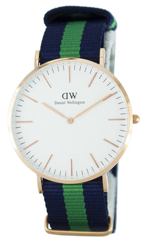 Daniel Wellington Classic Warwick Quartz DW00100005 - Men Tribe